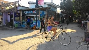 Sepeda di Trawangan