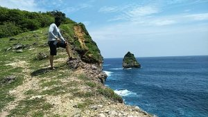 Tebing di TWA Gunung Tunak