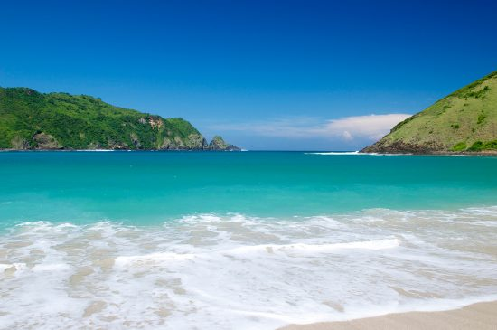 Pantai teluk Mawun Lombok