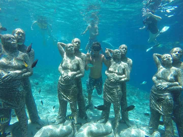Spot snorkeling Gili Meno