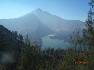 The shape of caldera