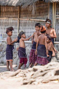 Anak-anak di Lombok