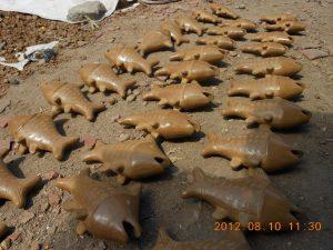 pengeringan tembikar