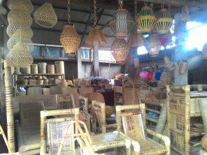 bamboo woven