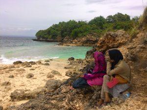Singgah di gili Petelu Lombok Timur