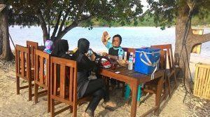 restoran pinggir pantai Sudak