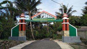 Gerbang desa wisata