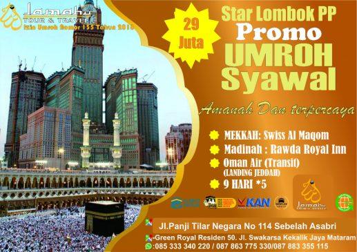 Umroh start Lombok