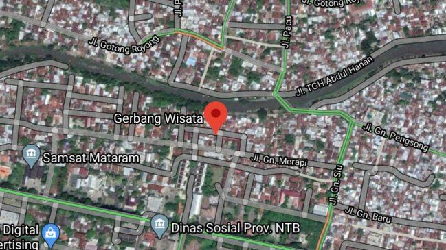 lokasi gerbang wisata