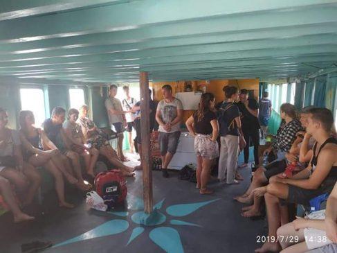 Dalam boat trip